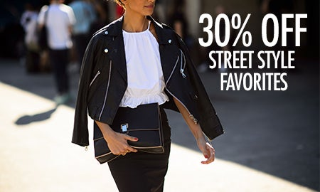 30% Off Street Style Favorites