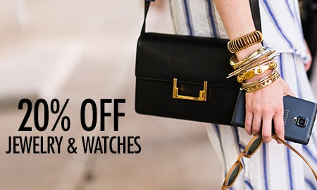 20% Off Editors' Picks: Jewelry & Watches