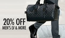 20% Off Men's LV, Tom Ford & Givenchy