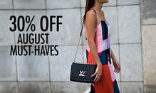 30% Off August Must-Haves