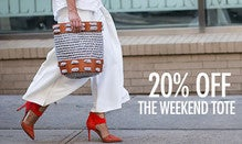 20% Off The Weekend Tote