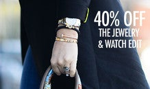 40% Off The Jewelry & Watch Edit