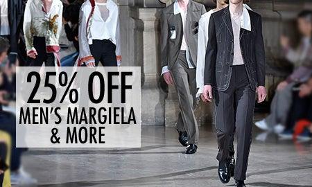 25% Off Men's Balenciaga, Maison Margiela & More