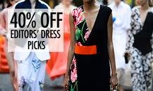 40% Off Editor's Dress Picks