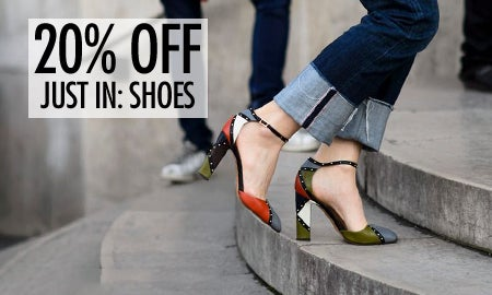 20% Off Just In: Shoes