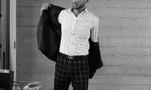 High Contrast: Black & White Menswear