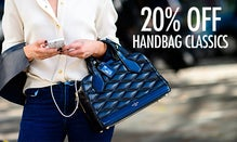 20% Off Handbag Classics