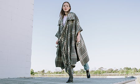 1 Trend, 2 Ways: Plaid Outerwear