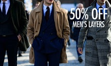 50% Off Men's Most Valuable Layers