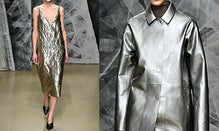 The New Way To Wear Metallics Now