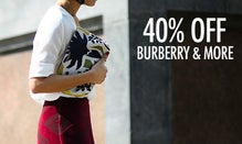 40% Off Designer Classics: Burberry, Brunello & More