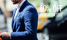 60% Off The Menswear Edit