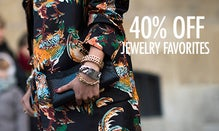 40% Off Jewelry Favorites