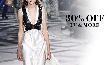 30% Off Prada, LV & More
