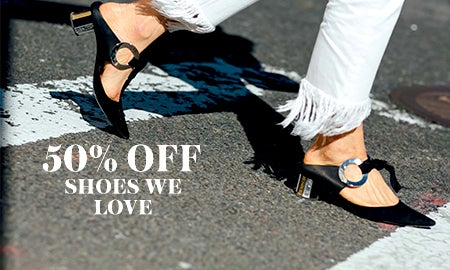 50% Off Shoes We Love